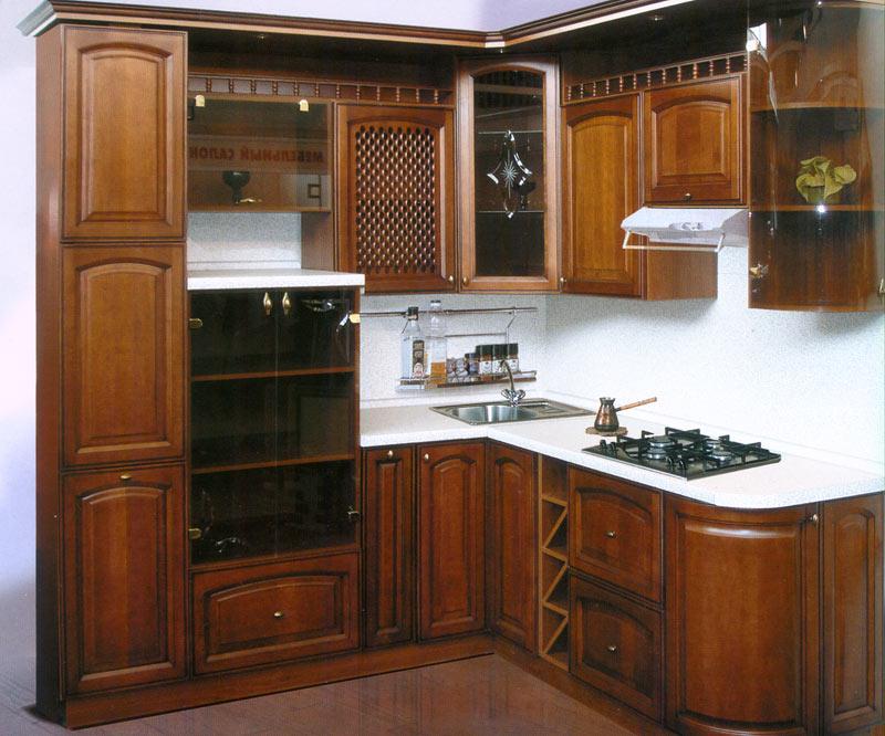 Кухни из массива дерева на заказ - отличное качество и стиль.